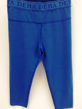 Deha leggings blau kurz +