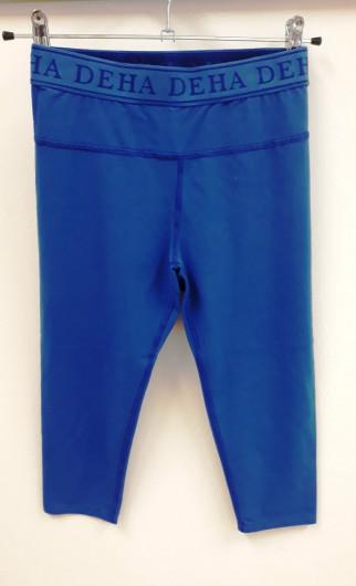 Deha leggings blau kurz +