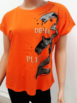 Deha shirt orange+