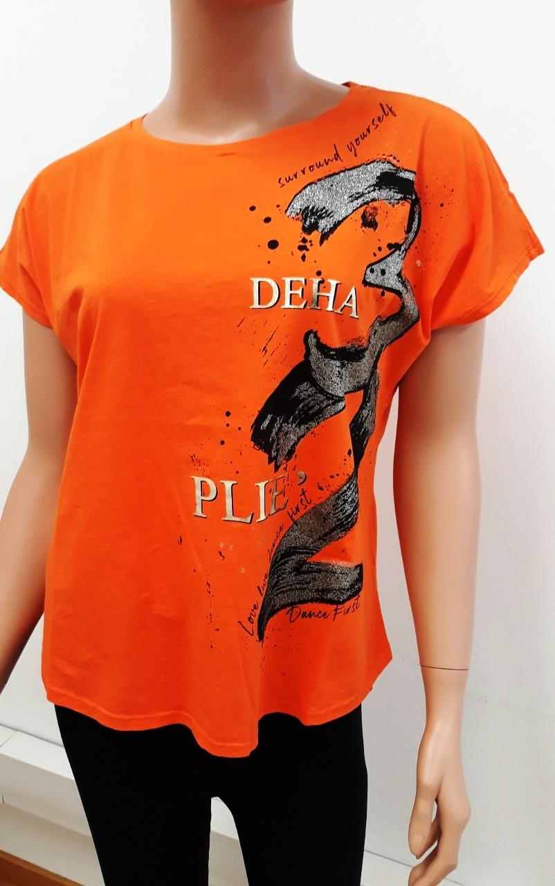 Deha shirt orange+