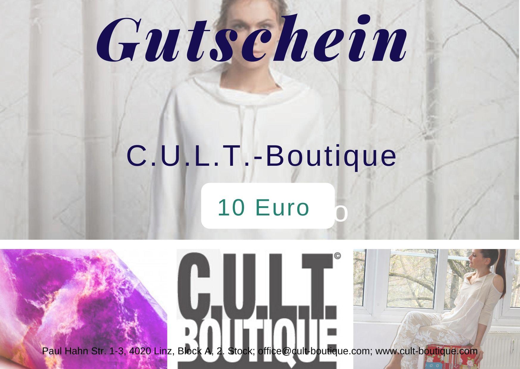 Gutschein CULT 10 Euro