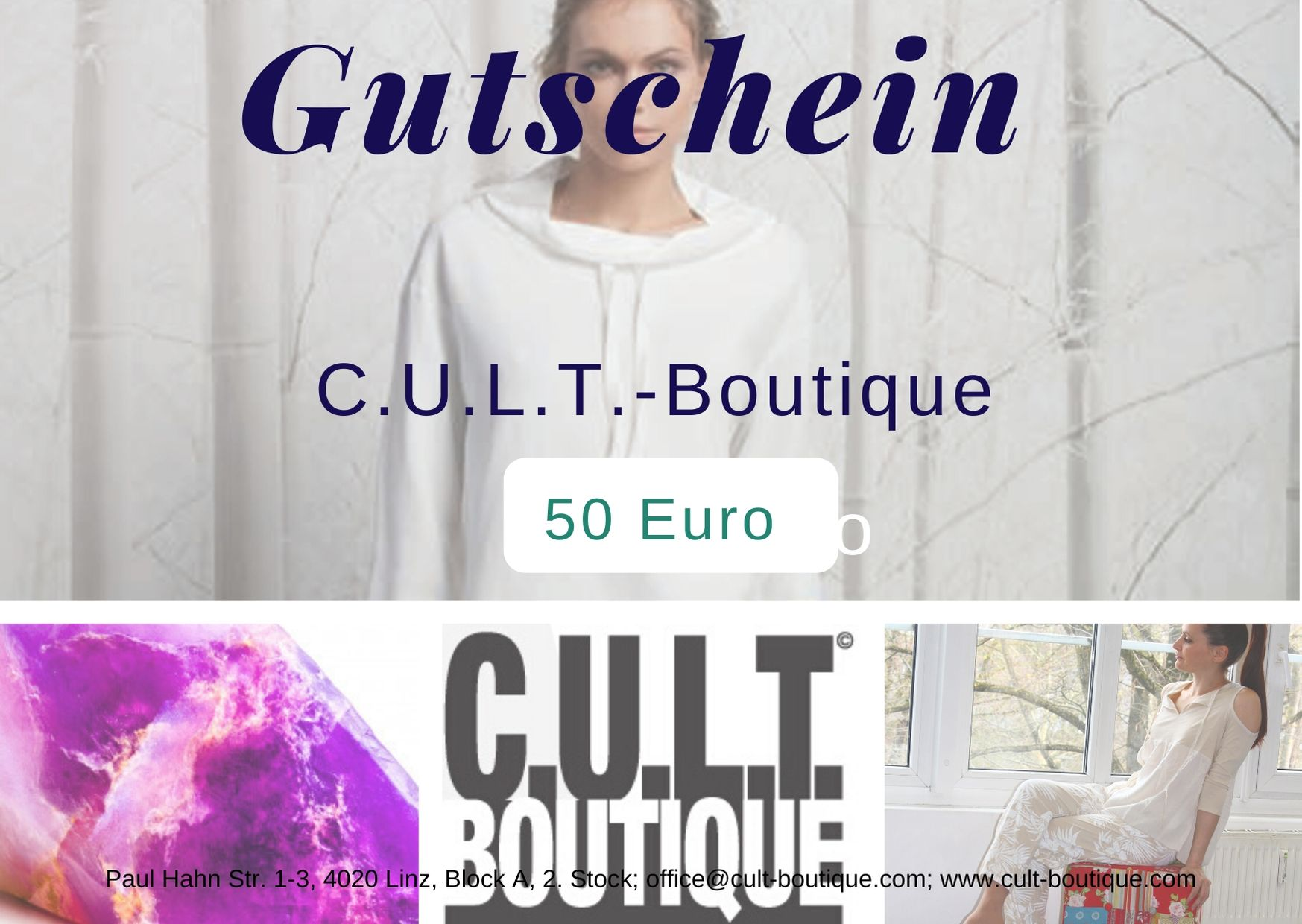 Gutschein CULT 50 Euro